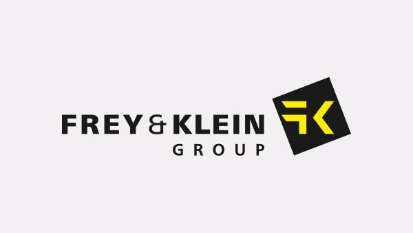 Gelobtes Land Frey & Klein Internationale Spedition Logo
